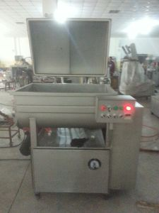 Stainless Steel Vacuum Commercial Meat Mixer Machine pictures & photos