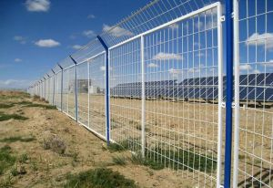 PVC Coated Frame Wire Mesh Fence