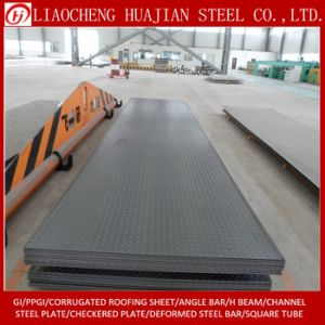 Thickness 5.75mm Checkered Steel Plate in Stock pictures & photos