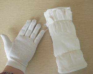 Factory Cheap Cotton White Working Gloves pictures & photos