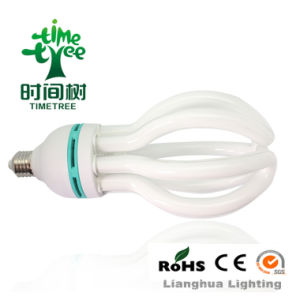 14mm E27/B22 T4 65W 8000h Lotus Energy Saving Lamp (CFLHLT58Kh) pictures & photos