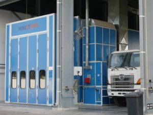 Industrial Paint Garage Equipment Riello Spray Booth pictures & photos