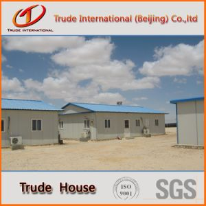 Light Steel Structure Mobile/Modular Building/Prefabricated/Prefab Camp Family House pictures & photos