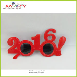 Red Plastic Party Glasses 2016 Style (Joy31-1000)
