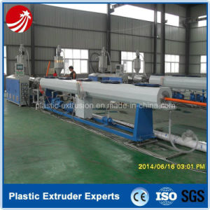 Plastic PE HDPE Pipe Tube Extrusion Extruder Machine pictures & photos