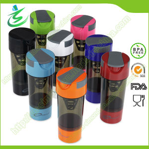 500 Ml Wholesale Plastic Cyclone Shaker Bottle Cups pictures & photos