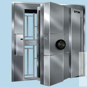 Office Furniture/Stainless Steel Double Door Bank Vault Door Antitheft Door pictures & photos