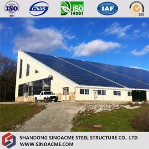 Sinoacme Prefab Single Slope Steel Structure Workshop pictures & photos