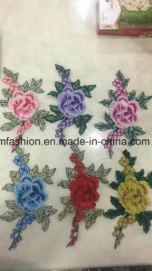 Hot Sell Garment Accessories Embroirdery Flower Ym-32 pictures & photos