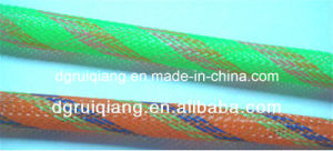 Polyethylene Terephthalate Braided Expandable Cable Protection Heat Resistant Sleeve