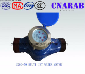 Multi-Jet Vane Wheel Dry Type Water Meter Dn50 pictures & photos