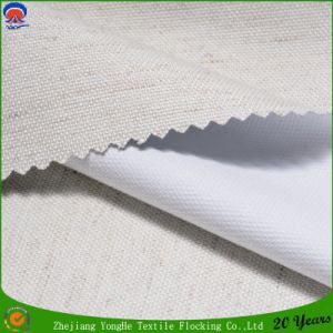 Textile Window Curtain Fabric Coating Flocking Waterproof Fr Blackout Curtain Fabric pictures & photos