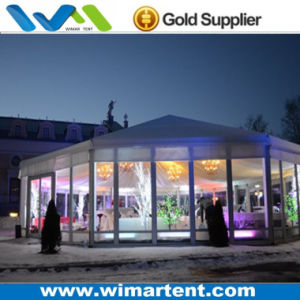 Giant 22m Decorated Hexagonal Event Tent for Birthday Party