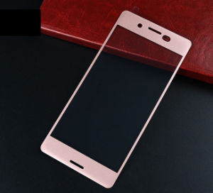 Mobile Phone Accessories 3D Full Covered Silk Printing Tempered Glass Screen Guard for Sony XP