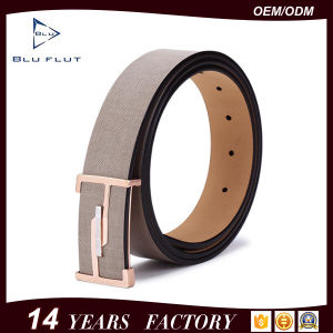 Factory Offer Custom Metal Buckle Belt Men Leather Waist Belts pictures & photos