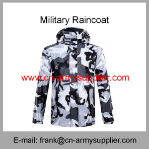 Reflective Raincoat-Military Raincoat-Traffic Raincoat-Army Raincoat-Duty Raincoat-Police Raincoat pictures & photos