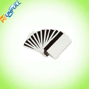 Blank PVC Cards Plain Cards/Hi/Low-Co Mag Stripe Cards pictures & photos