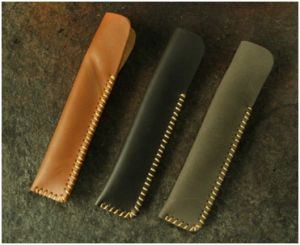 Custom Leather Gift Pen Bags, Creative Business Pen Cases