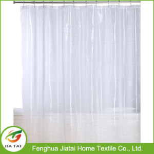 Waterproof Premium Mildew Resistant Clear PEVA Shower Curtain