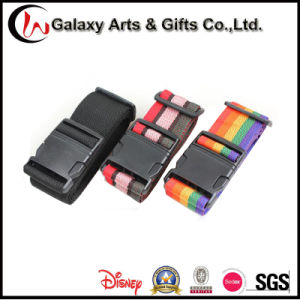 PP Material Rainbow Adjustable Travel Luggage Strap