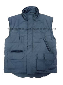 Men′s Tc Body Warmer Padded Padding Winter Outdoor Vest (BW01)