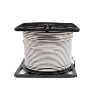 CAT6 UTP Network 305m Cable 0.56mm Bc Fluck Pass Grey PVC pictures & photos