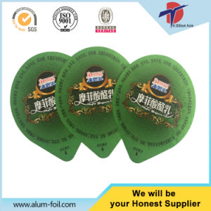Yogurt Cup Foil Sealing Lids pictures & photos
