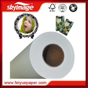 2.38m Jumbo Roll Non-Curl Fast Dry 50GSM Sublimation Transfer Paper pictures & photos