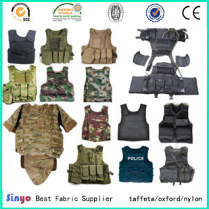 Breathable PU Coated Durable 1000d Cordura Nylon Military Tactical Vest Fabric pictures & photos