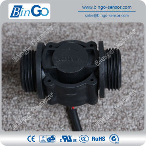 G1′′ Rate 0-60L/Min Plastic Black Water Meter, Flow Sensor for Drinking Water pictures & photos