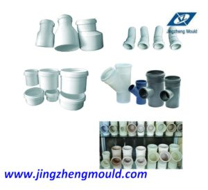 PVC Push Fit Pipe Tee Fitting Mould pictures & photos