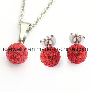 Original Czech Crystal Ball Earring Pendant Necklace Jewelry Set pictures & photos