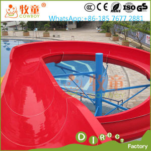 Rainbow Open Spiral Slide Water Park for Family Outdoor Playground pictures & photos