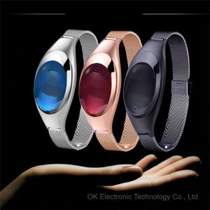 Ladies Fashion Model Smart Bracelet Watch with Heart Rate Monitor Blood Pressure Z18