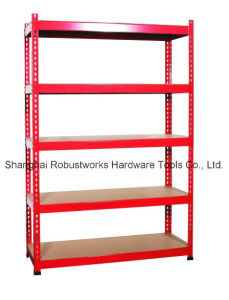 5 Tiers Metal Storage Shelf Steel Rack (7030-100) pictures & photos
