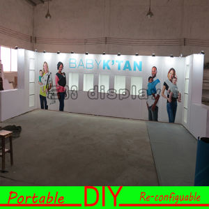 20FT X 20FT Portable Re-Usable Style Aluminum Fabric Trade Show Display pictures & photos