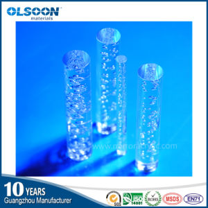 Guangzhou Manufacture Olsoon Acrylic Bubble Rod/Plexiglass Rod pictures & photos