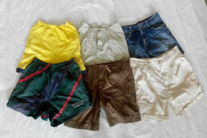 China Gracer Stock Austrlia Style Small Bales Ladies Short Pants Used Clothing in Bale pictures & photos