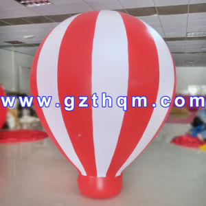 Big Advertising Inflatable Ground Balloon 2mh/Inflatables LED Decorations Balloon pictures & photos