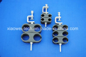Double Card Feeder Clamp for RF 5/4′′ Cable