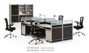 Modern 4 Person Workstation Office Desk Call Center Cubicles Design
