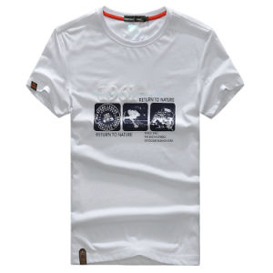 Fashion Short Sleeve Crew Neck T-Shirt for Male pictures & photos