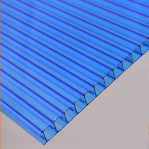 Cheap Anti-UV Lowes Greenhous 6mm Thickness Polycarbonate