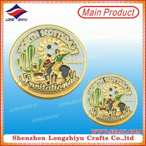 Fantastic Logo Excellent Quality Metal Coin with Class Design pictures & photos