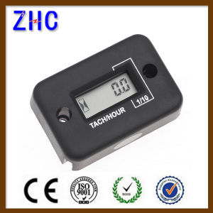 Waterproof Digital LCD Auto Motorcycle Electronic Engine Speed Timer / Counter / Hour Meter pictures & photos
