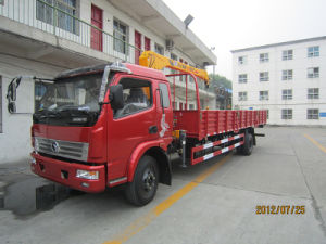9 Ton Loading 3 Ton Crane Truck Sale pictures & photos