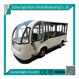 Electric Bus with Closed Door, 8 Seats, CE Certificate, Eg6088kf pictures & photos