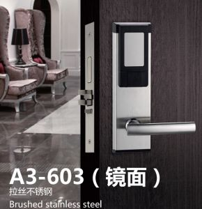 High Quality SUS304 Hotel RF Card Lock with LED and Sound pictures & photos