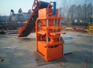 Qtj4-35 European Standard Concrete Making Machine pictures & photos