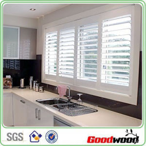 China 3 5 Reinforced Pvc Plantation Shutters In The Kitchen